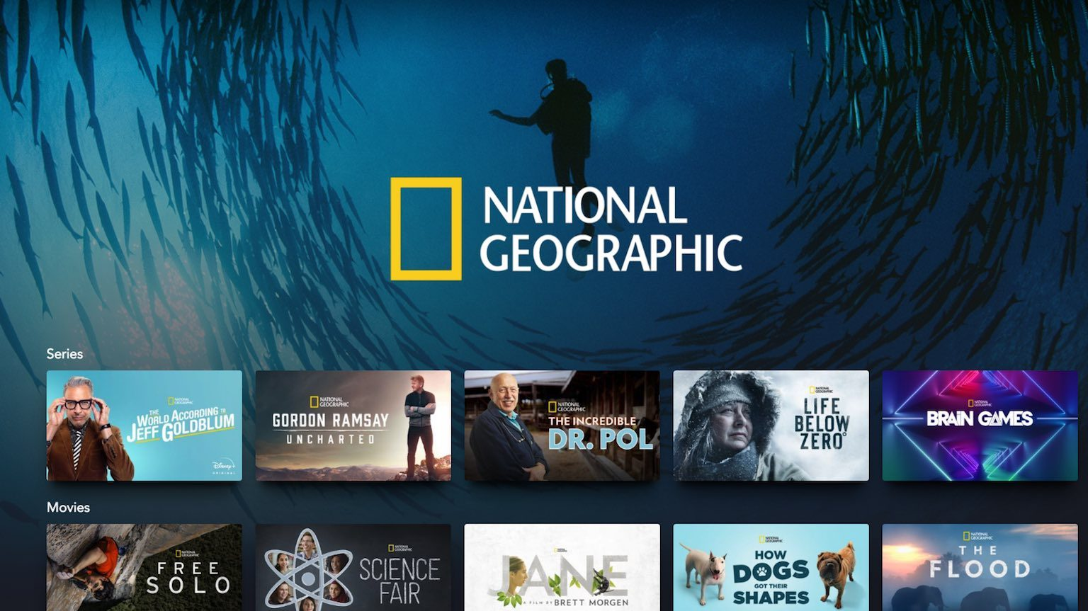 Disney Plus National Geographic