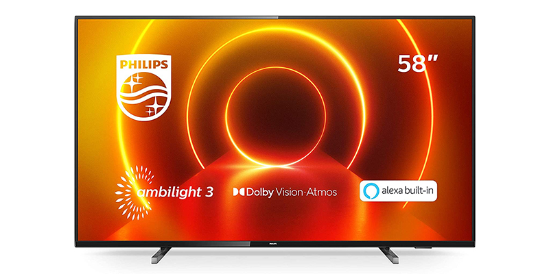 Philips Ambilight 58PUS7805:12 58-Inch LED TV