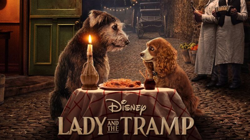Lady and the Tramp live action Disney Plus
