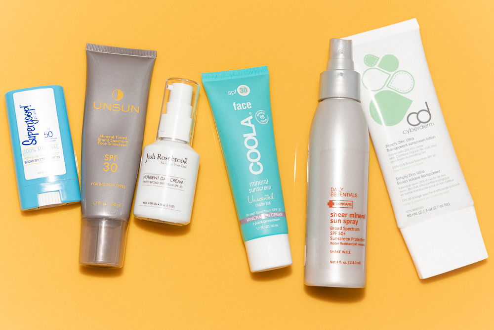 These Are The Only Mineral Sunscreens That Don't Make Me Look Like A Ghost