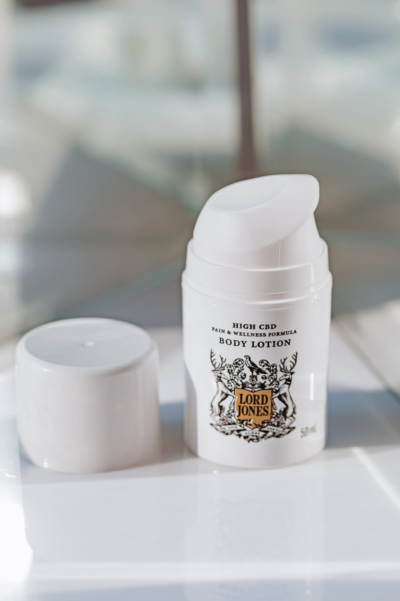 Lord Jones Pure CBD Body Lotion