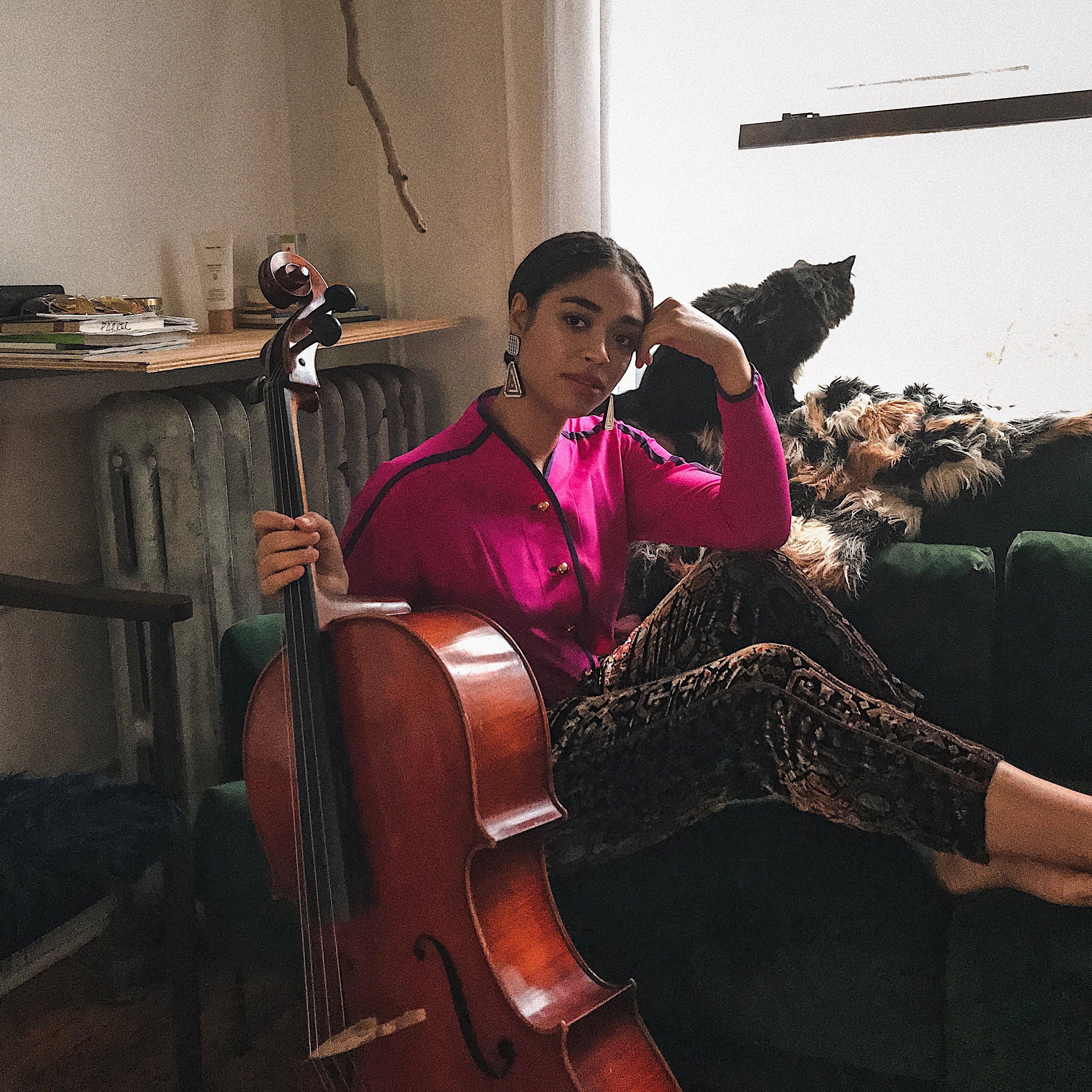The Cellist Who Swears By Curology
