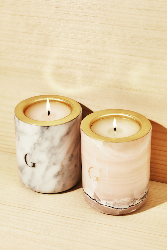 Gilded The Marble Candle