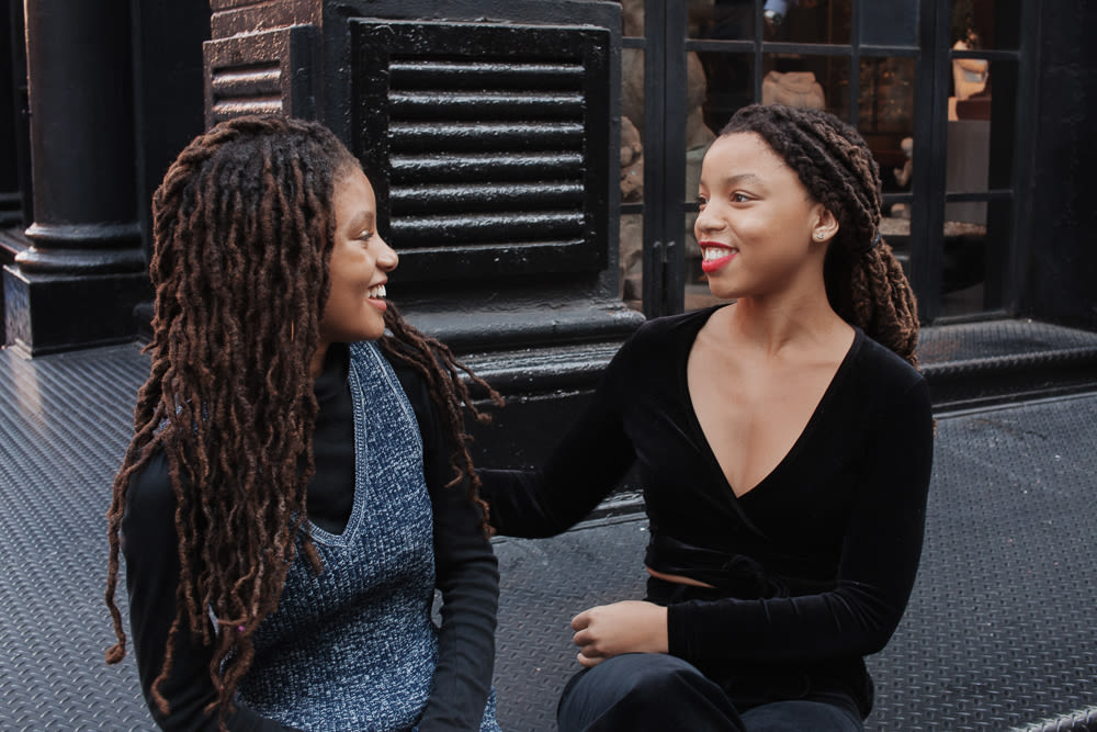Chloe X Halle On Their Beauty Routines Into The Gloss
