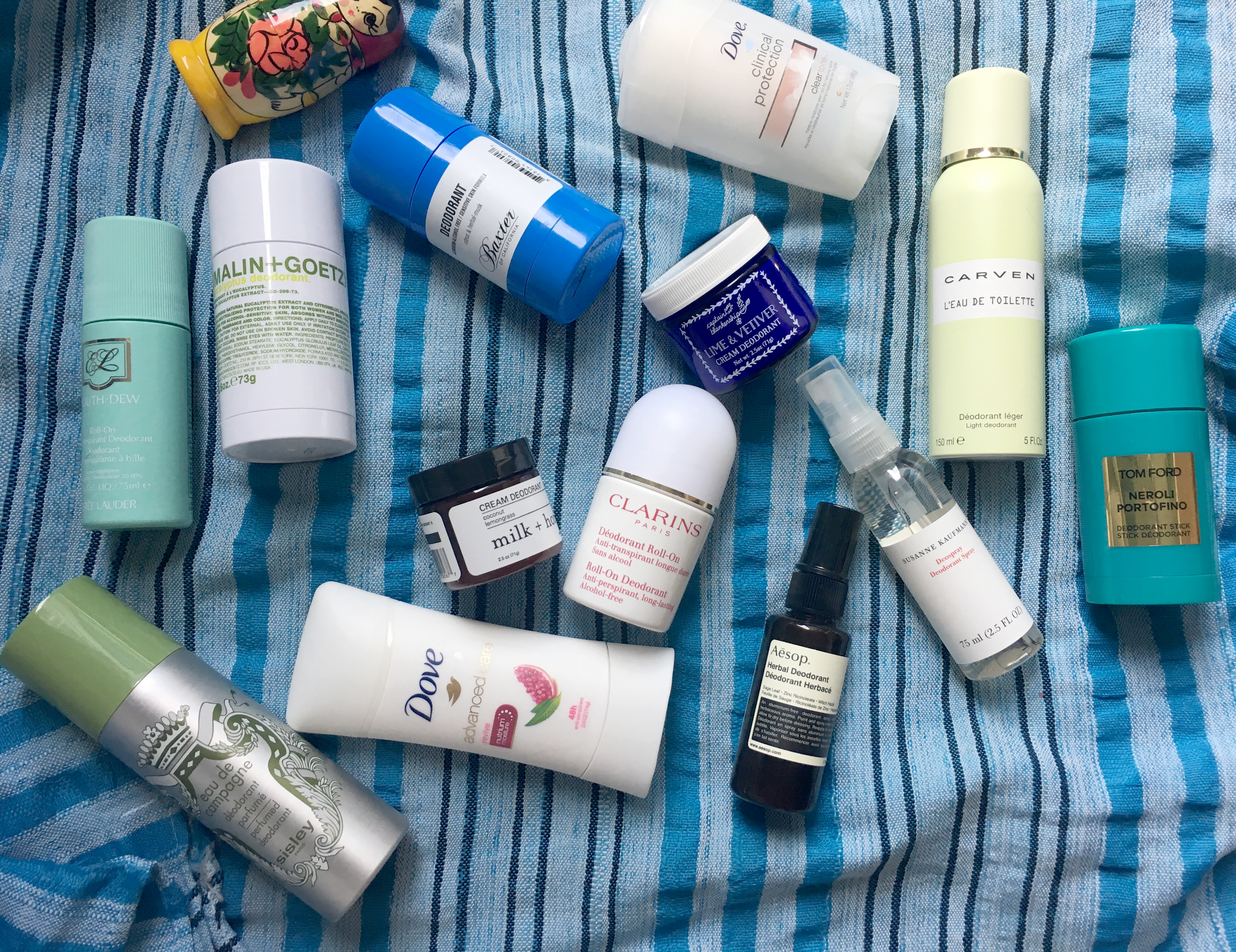 Deodorants: The Best In Smell