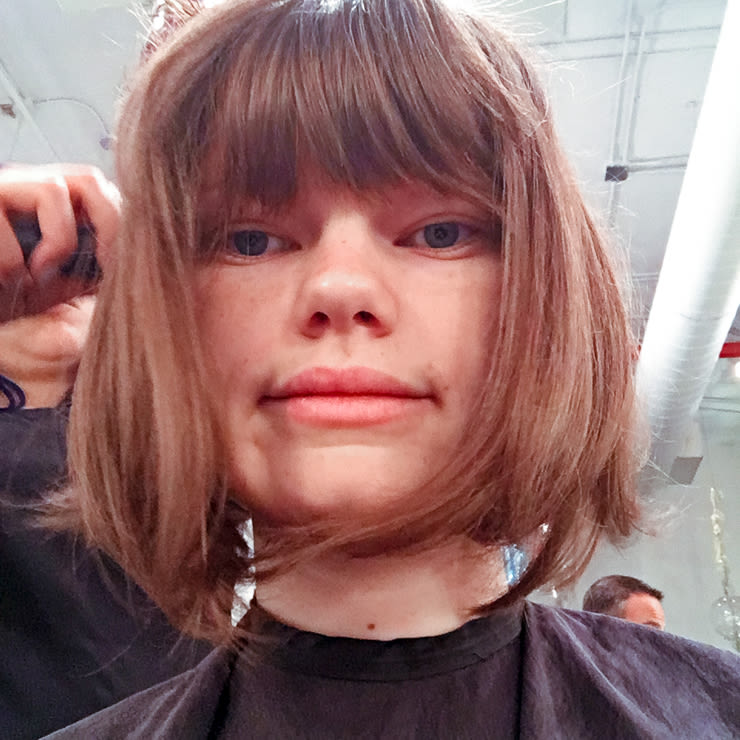 Bad Hair Bangs: How To Inverted Bob Haircut Youtube
