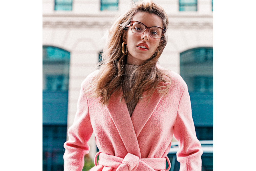 How To Style Statement Glasses Into The Gloss