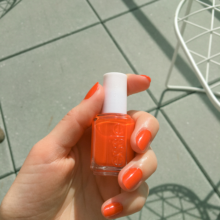 Essie Clambake is Summer's Official Nail Color