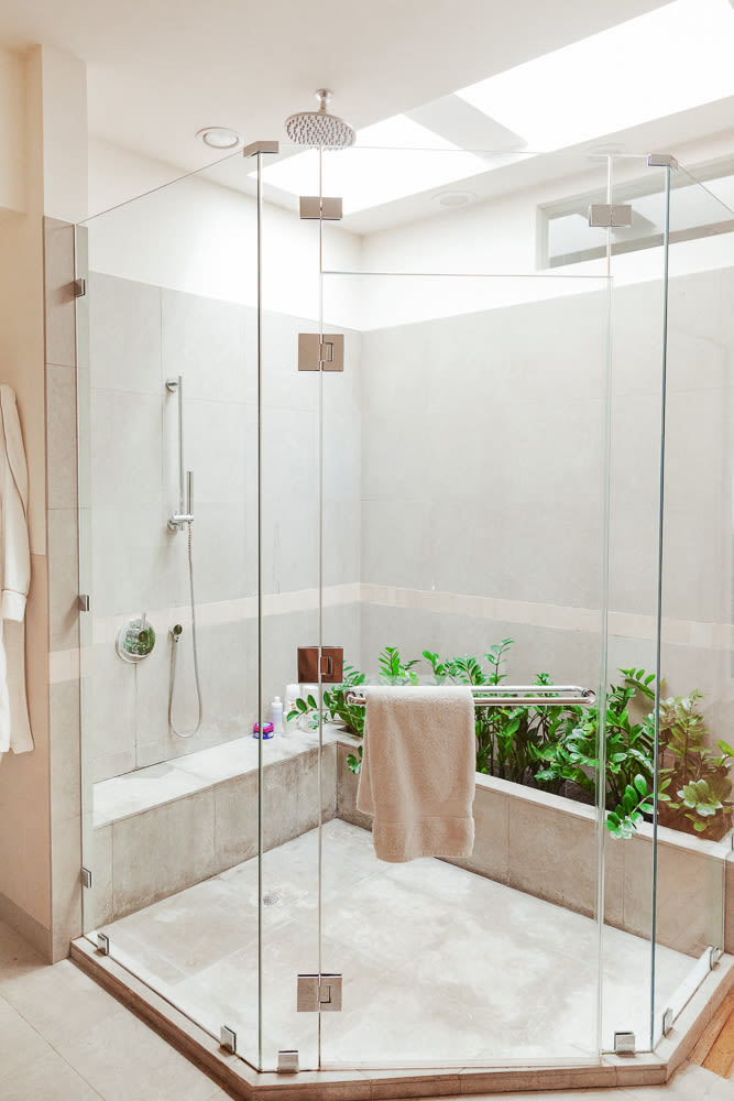a crucial discussion about showers into the gloss