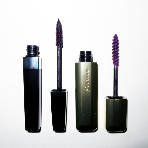 Violet Eyes Chanel Inmitable Intense And Guerlain Into The Gloss