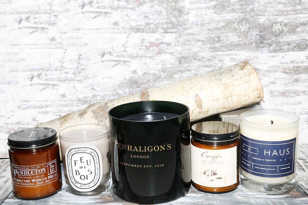 Wood-Scented Candles - Wood-Scented Candles Into The Gloss