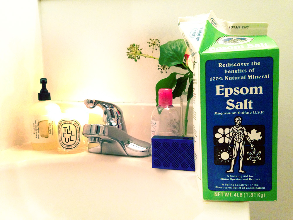 How To Take A Bath With Epsom Salt