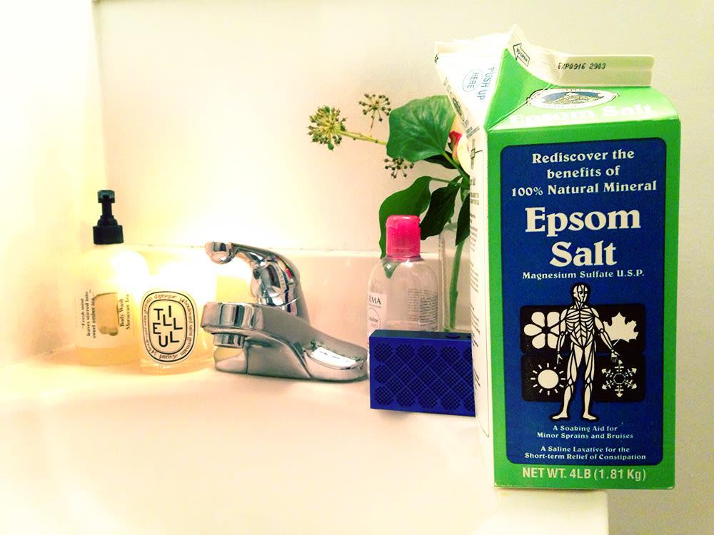 How To Take A Bath With Epsom Salt Into The Gloss