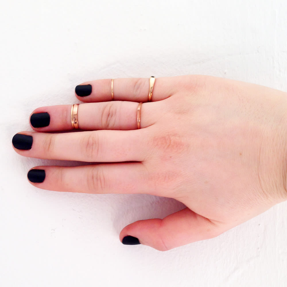 Black Nail Polish Yea Or Nay