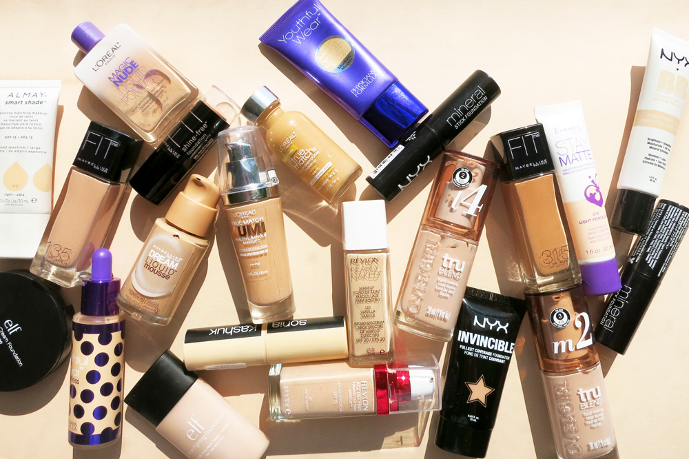 The Best Drugstore Foundations