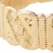 Love, Adorned Vintage Ornate Gold Band