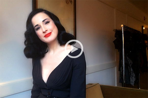 Dita Von Teese On The Art Of Seduction Into The Gloss