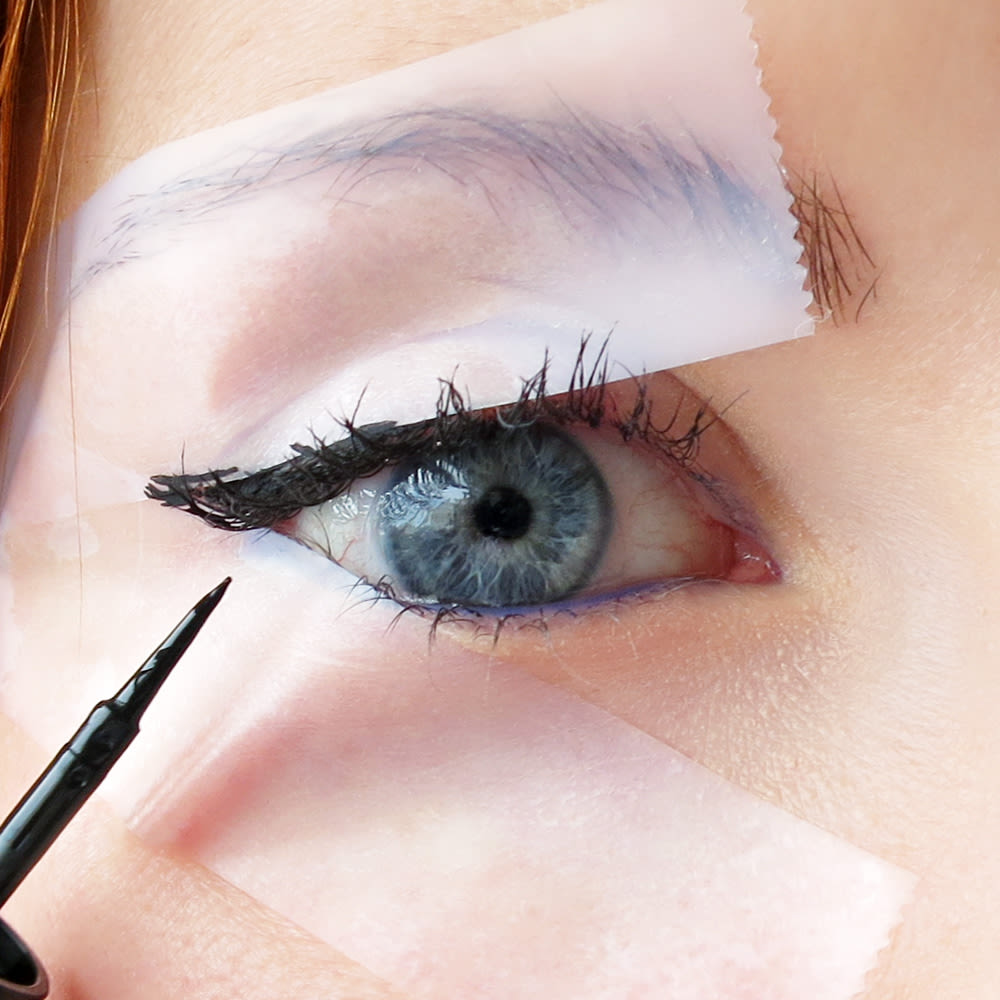 A cheaters guide to applying eyeliner