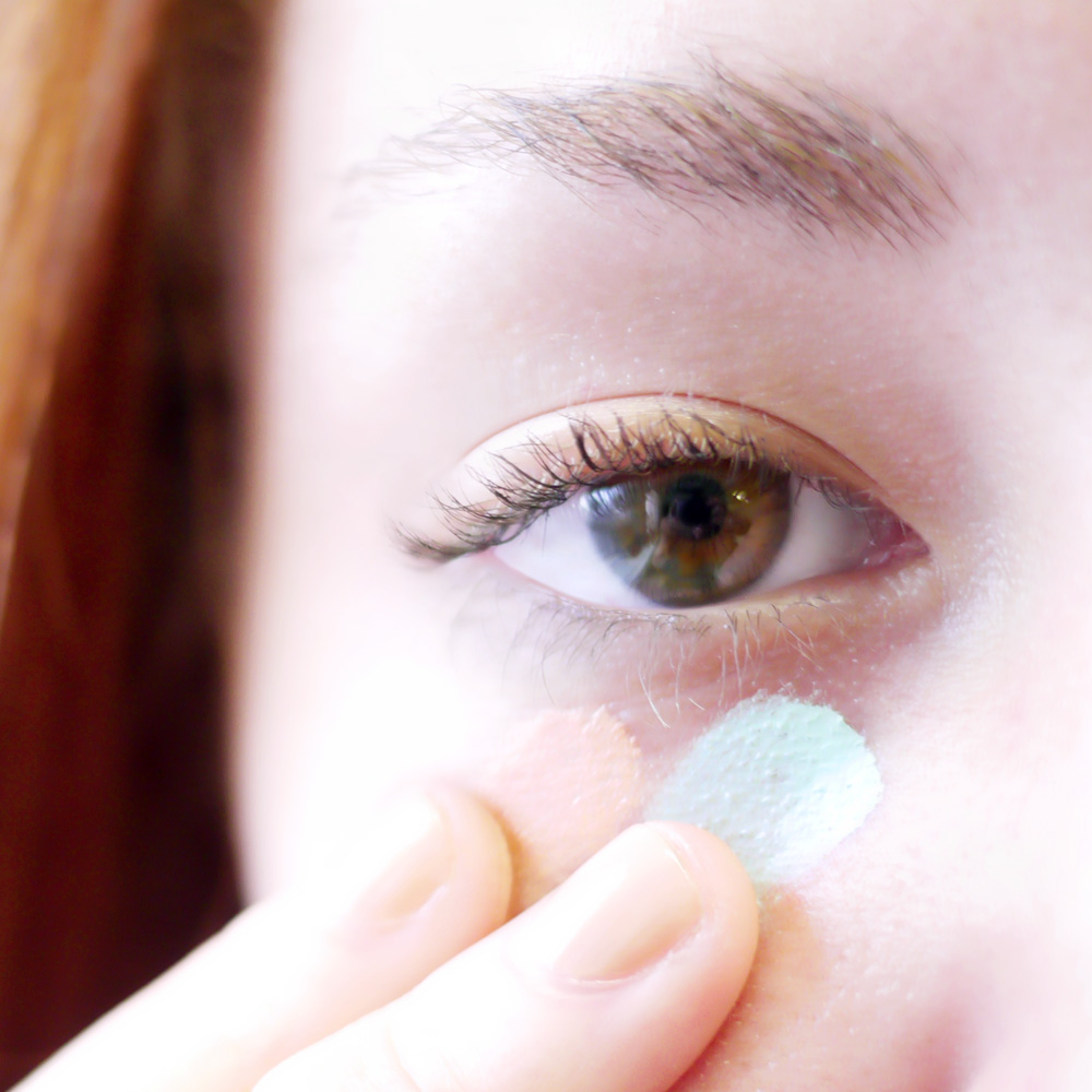 Get Rid Of Under Eye Circles With Green And Orange Into