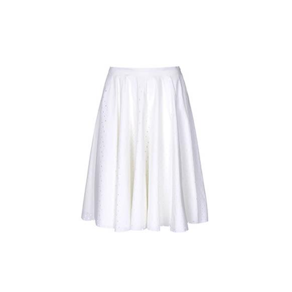 The Feminine Knee-Length Skirt   Into The Gloss
