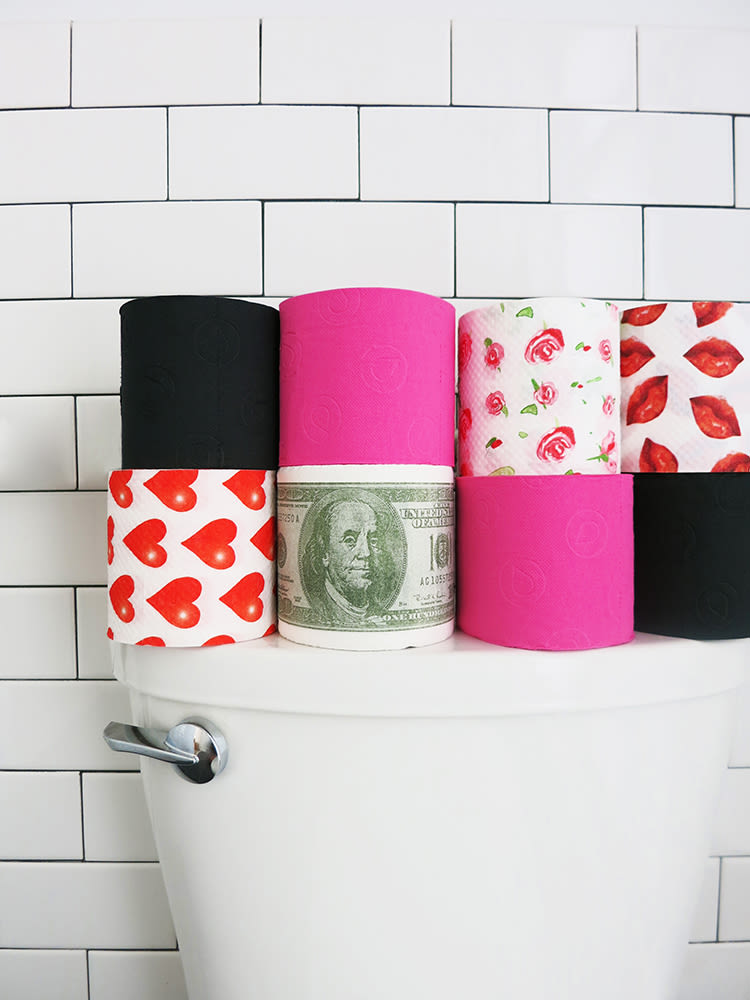 Colorful Toilet Paper 1