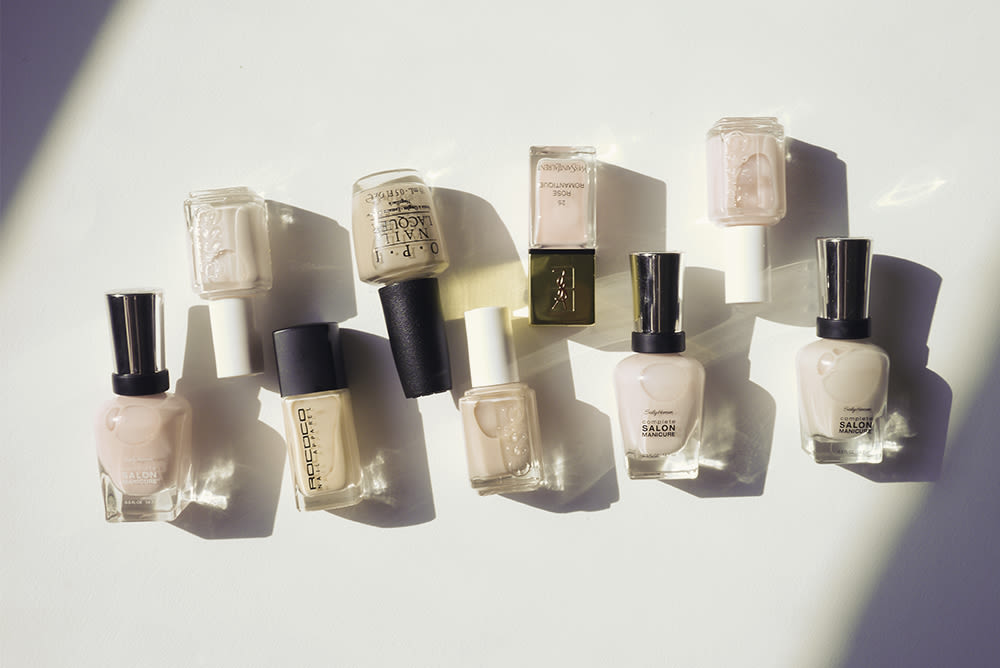 The Best Barely There Nail Polishes Into The Gloss