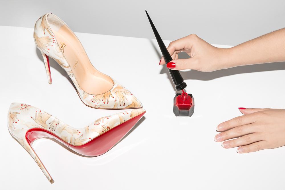 Christian Louboutin Red Nail Polish Shoes
