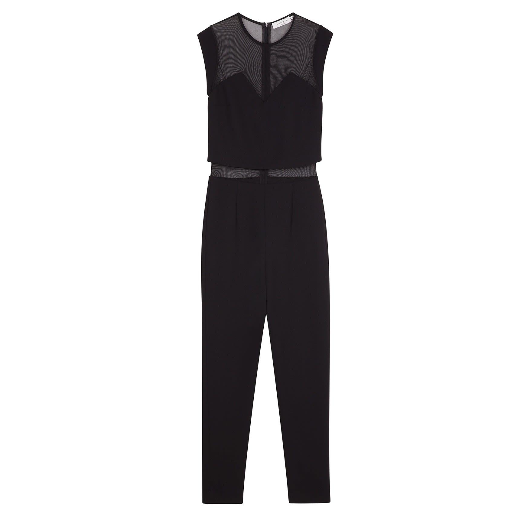 2c5ee5d17437 Sandro Pessy Crop Top Jumpsuit