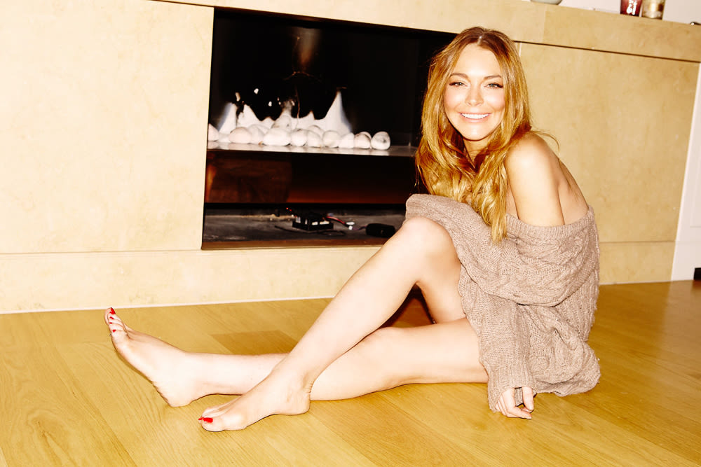 Lindsay lohan on skincare beauty and stress relief into the gloss lindsay lohan top shelf beauty 12 voltagebd Images
