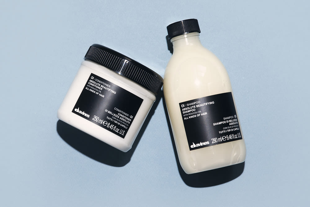 Davines Saved My Hair From Myself Into The Gloss Into The Gloss
