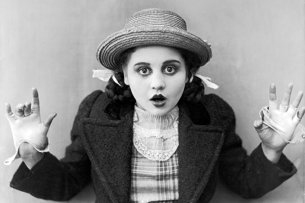 Image result for make up in silent movies