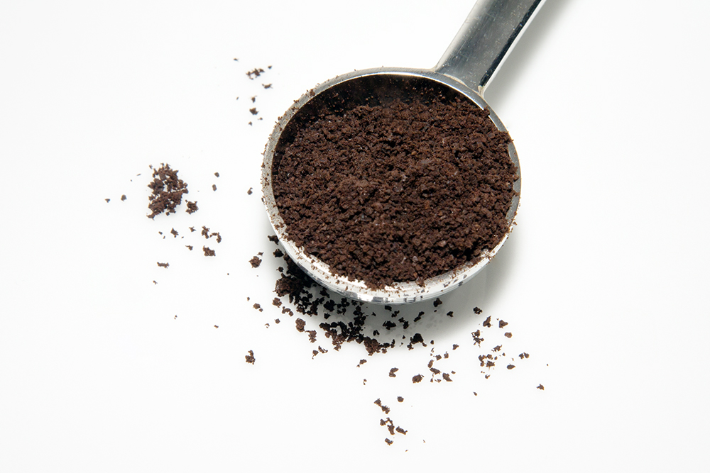 how to get coffee grounds