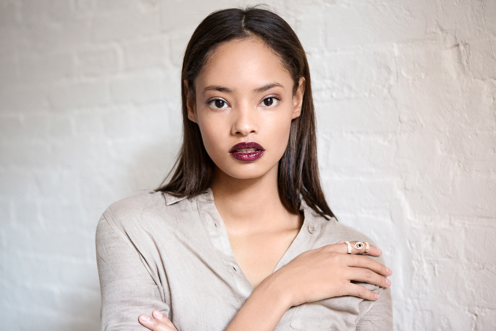 Malaika Firth - 2020 Brown/Black hair & chic hair style.