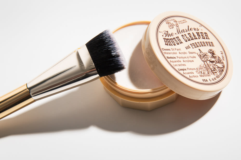 Makeup Artist Brush Cleaning How To 3