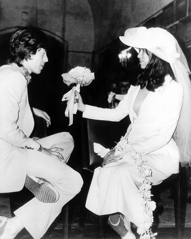 Famous Brides: Bianca Jagger