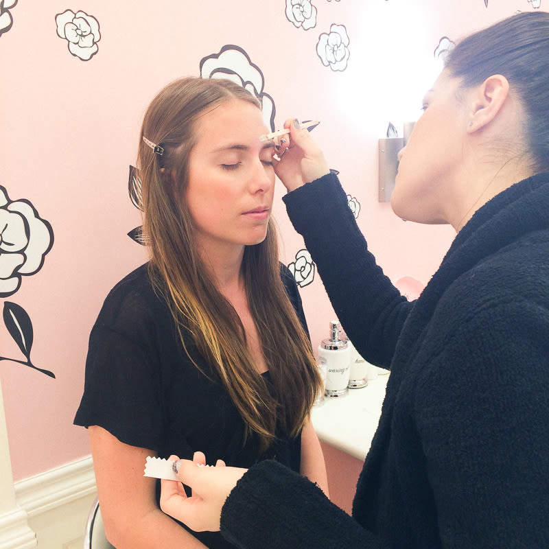 Victoria Tries The Benefit Brow Genie | Into The Gloss