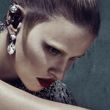 Kate Moss and Lara Stone in Balenciaga's fall campaign.