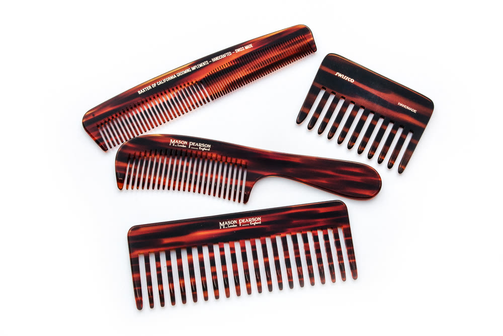 a hair above the best combs to love into the gloss