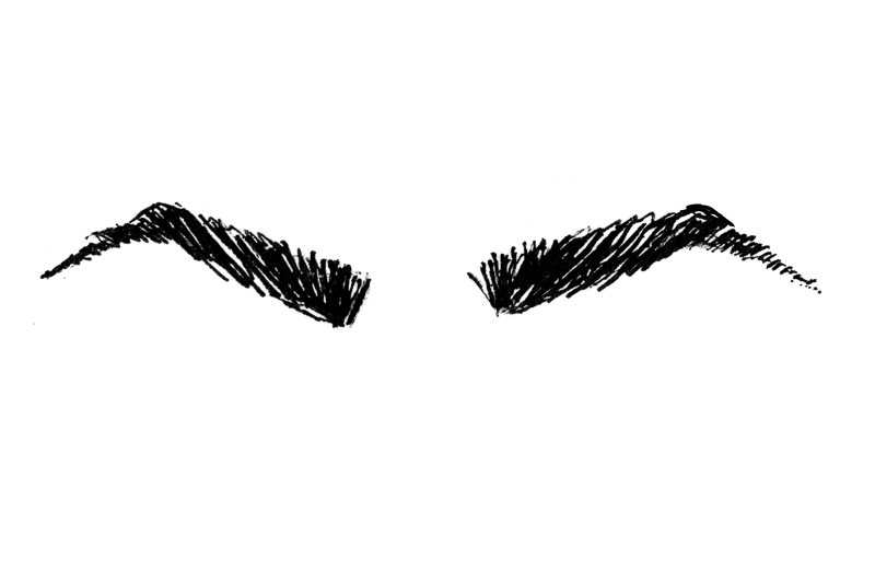 which eyebrow shape are you into the gloss