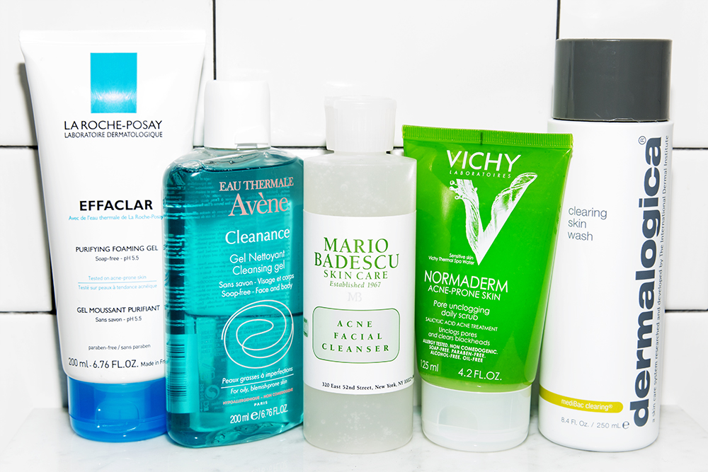 best facial cleansing products