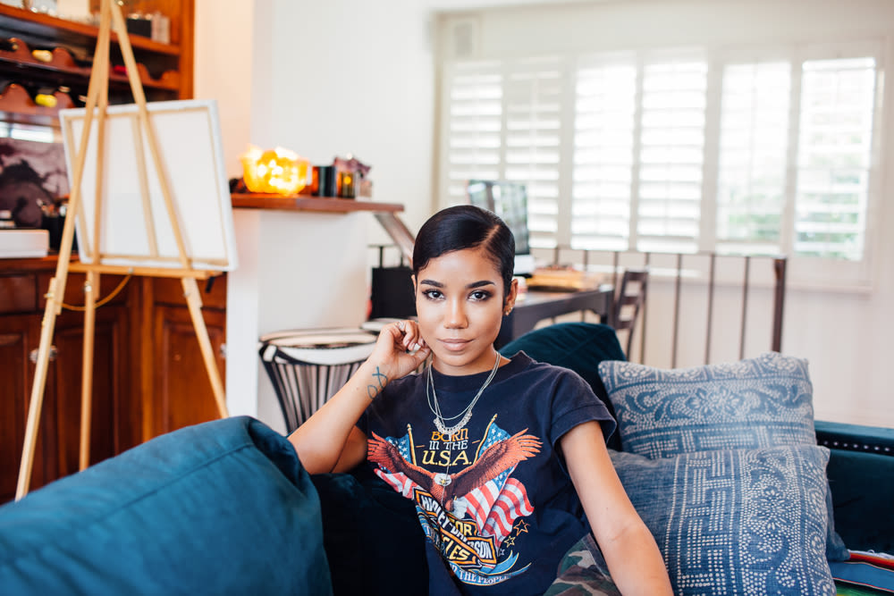 Singer Jhené Aiko's Makeup And Skincare Routine | Into The Gloss