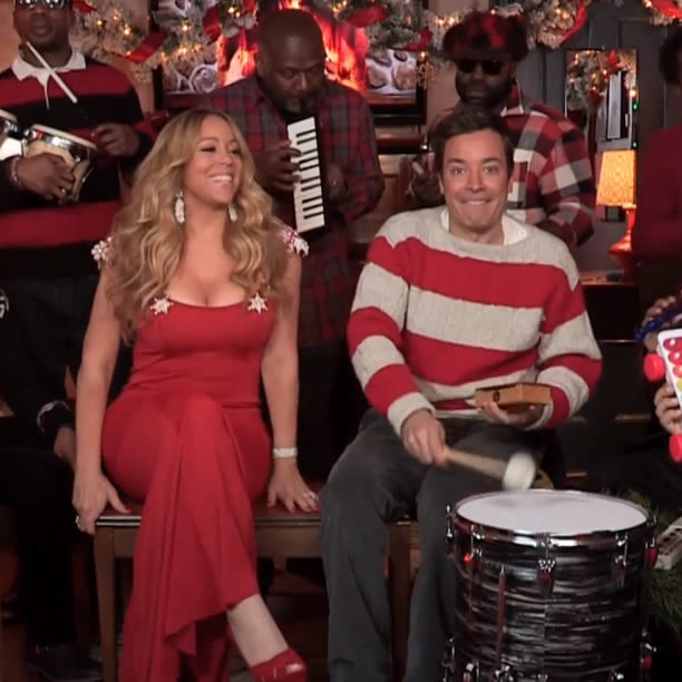 Jimmy Fallon Christmas.All I Want For Xmas Again Into The Gloss