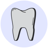 tooth darkening icon