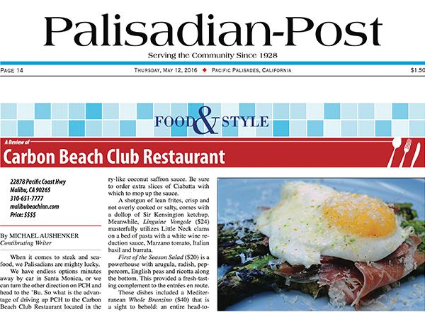 restaurants in malibu carbon beach club malibu beach inn - Beach Style Restaurant 2016