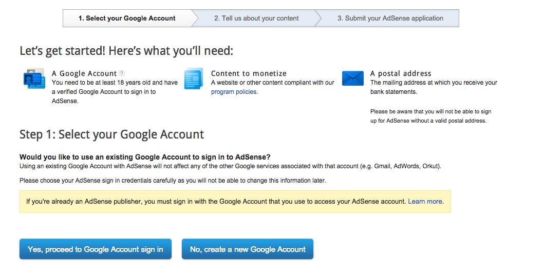 By Photo Congress || Google Adsense Login Sign Up