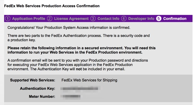 fedex-authkey-meternumber