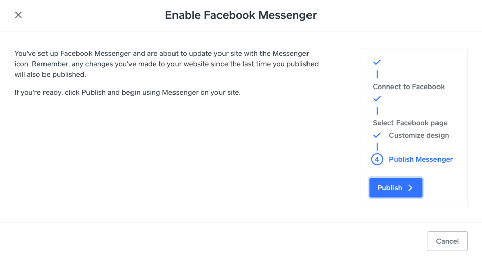 messenger-publish