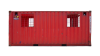 22TU 20FT TUNNEL CONTAINER RENT SIDE RED control