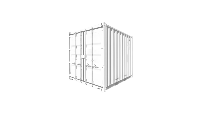 8ft Standard container