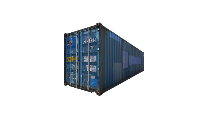 40ft High Cube Standard container